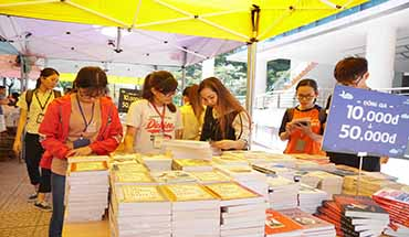 "The book fair: ""Book and the Youth"""