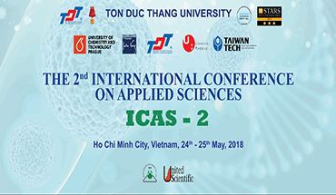 The 2nd International Conference on Applied Science - ICAS 2018