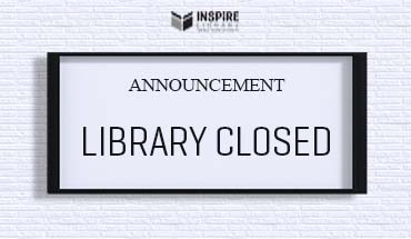 Announcement: Library temporarily closed