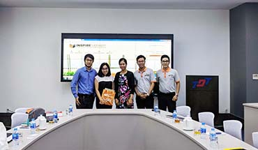 Springer Nature visited and worked at Ton Duc Thang University INSPiRE Library